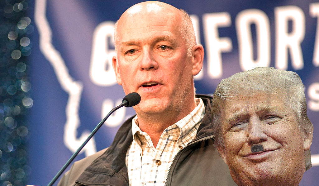 "Onion News staff offer to Greg Gianforte: ""Come beat us up"" … taking one for the team"
