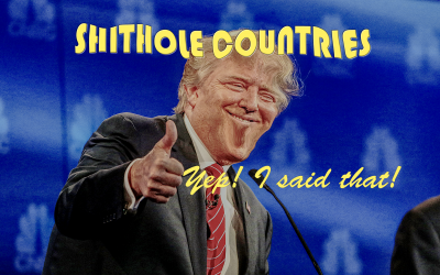 "Trump: Why are we having people from ""shithole countries"" coming here?"