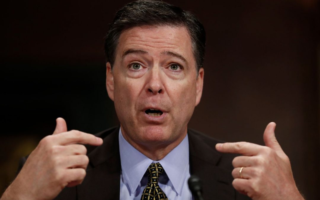 "Is Comey the ""meddlesome priest"" or a deus ex machina? Or both?"